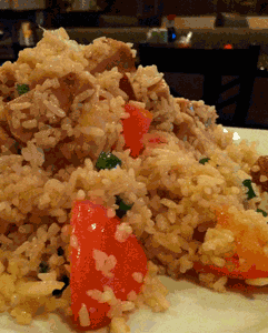 Soy Ham and Pineapple Fried Rice