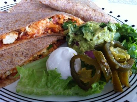 Spiral Diner - Chipotle Quesadillas