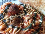 Spiral Diner - Sketti & Meatballs