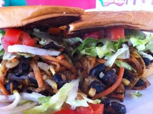 Image of Fuzzy's Taco Shop's Grilled Veggie Sandwich