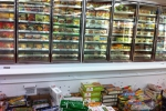 Natural Grocers frozen food display