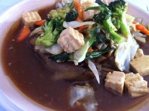 Thai Soon's Rad Na with Tofu