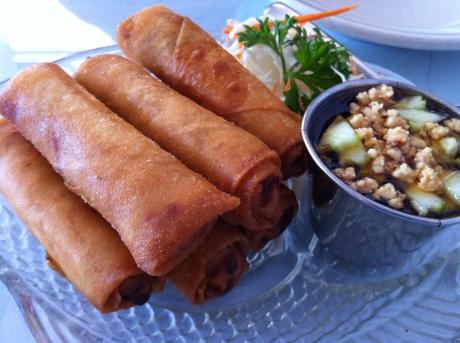 Thai Soon's Vegetarian Egg Rolls
