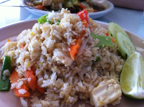 Thai Soon's Vegetarian Fried Rice with Tofu