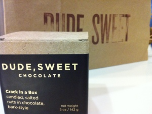 Dude, Sweet Chocolate
