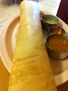 Udipi Cafe Huge Butter Masala Dosa