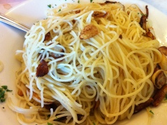 Sal's Angel Hair with Garlic and Olive Oil