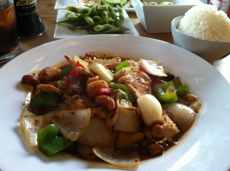 Cashew Chicken from Bambu