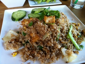 Thai Fried Rice with Tofu from Bambu